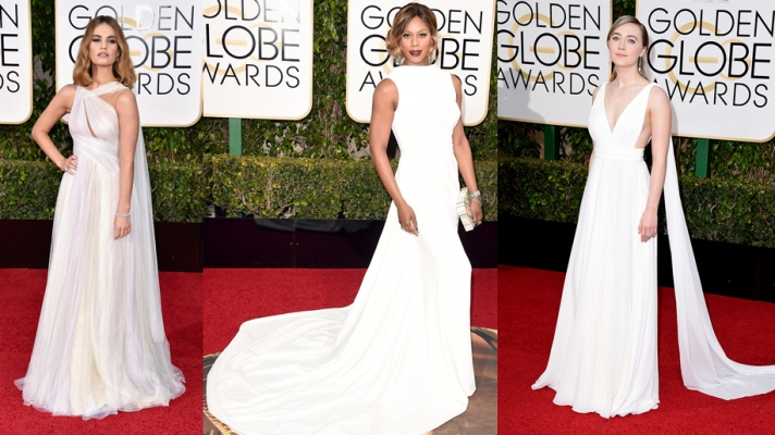 Bridal Inspiration from the Golden Globes Red Carpet