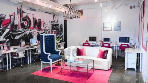 How to Decorate An Office Space with Color    StyleCaster