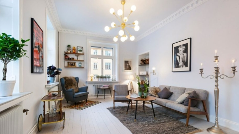 35 Stunning Scandinavian Rooms That Prove Less Is More | StyleCaster