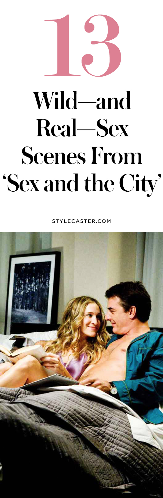 "Sex scenes from ""Sex and the City"" that are real 