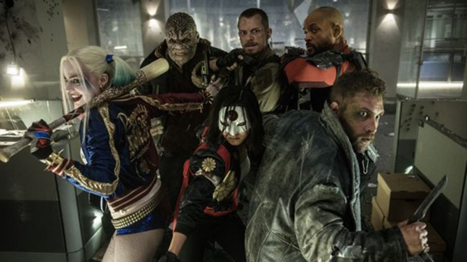 suicide squad revised Margot Robbie, Cara Delevingne, and Jared Leto Get Crazy in the Official Suicide Squad Trailer