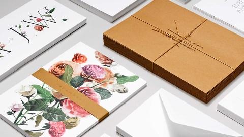 A Line of Wedding Invitations Minimalist Brides Will Love | StyleCaster