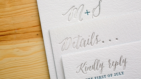 How to Figure Out Your Wedding Invitation Wording | StyleCaster