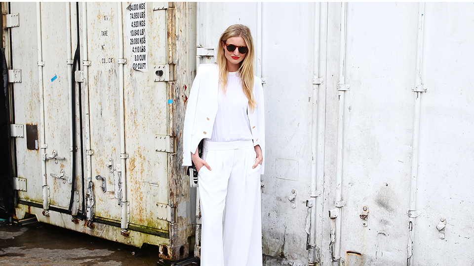18 Ways to Wear Winter White From Head to Toe