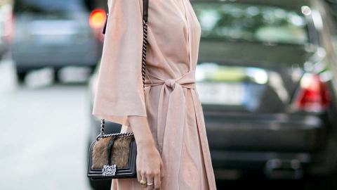 The Upgraded Wrap Dress Your Wardrobe Needs   StyleCaster