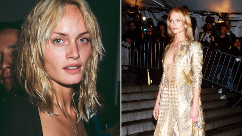 A Passionate Ode to '90s-Era Amber Valletta   StyleCaster