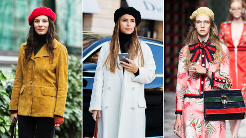 Breaking: You Can Now Wear a Beret and Get Taken Seriously | StyleCaster