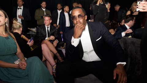 The Award for Most Intense Oscars Beauty Prep Goes to ... Diddy?! | StyleCaster
