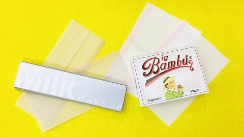Why Use Blotting Papers When You Can Use Rolling Papers Instead? | StyleCaster