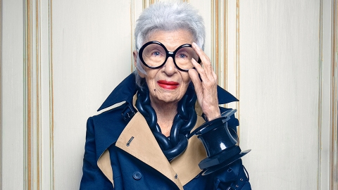 Iris Apfel's Thoughts on Fake Fur, Uggs, and Boring Red Carpets   | StyleCaster