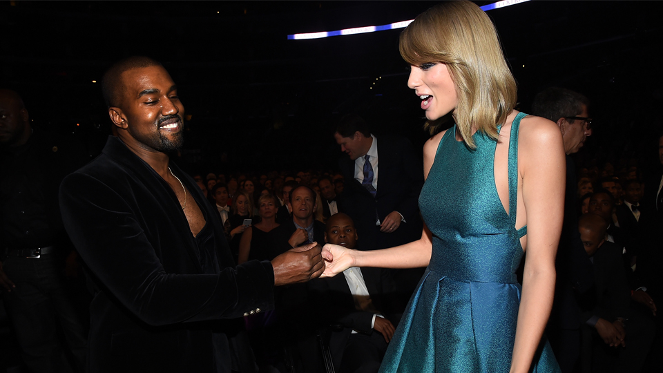 kanye west taylor swift Kanye West Defends Taylor Swift Lyrics, Says Bitch Is an Endearing Term