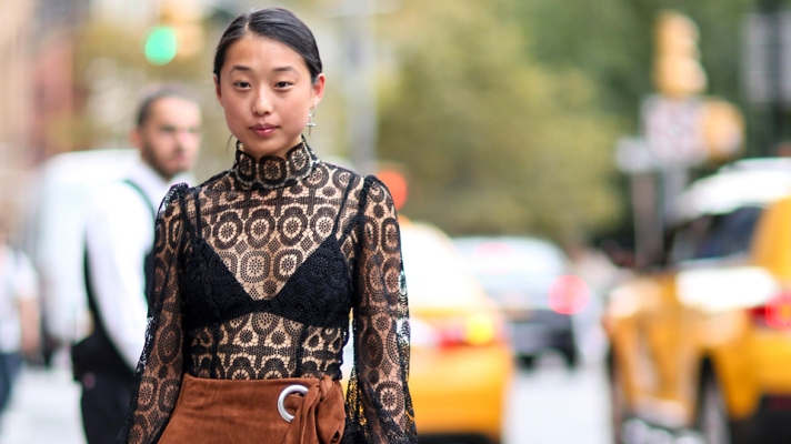 12 Ways to Pull Off the Lingerie-Dressing Trend IRL
