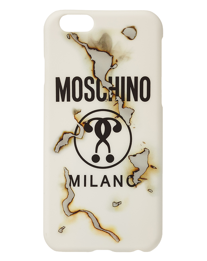Moschino-Fall-2016-Burned-iPhone-Case