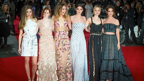 How Effing Chic Was the 'Pride and Prejudice and Zombies' Red Carpet? | StyleCaster
