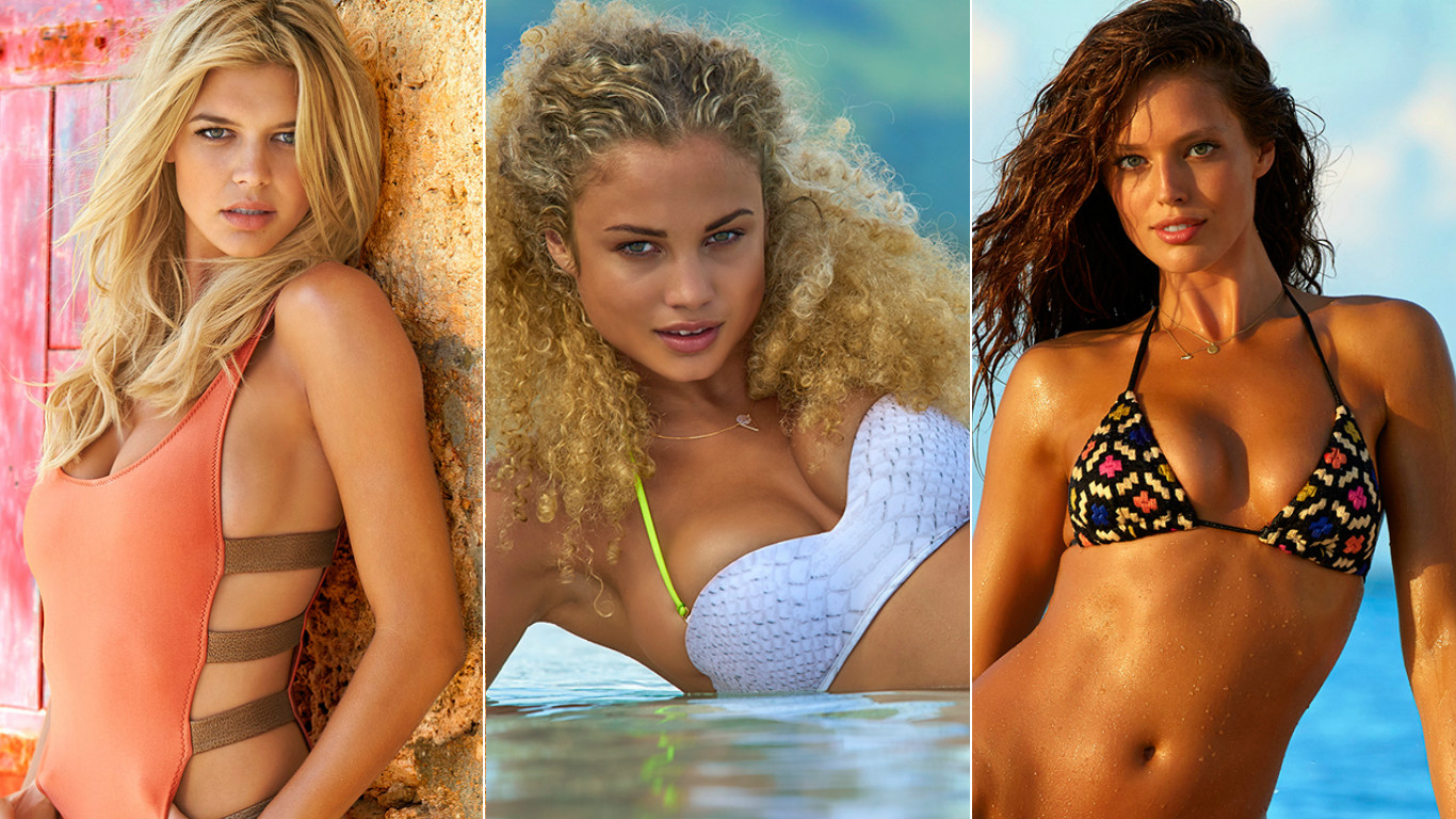 What 8 Sports Illustrated Swimsuit Models Wear to Work Out