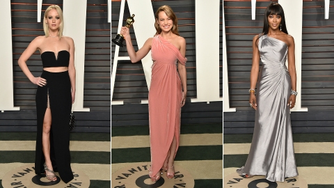 The Best Looks from the Vanity Fair Oscar Party | StyleCaster