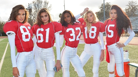 The Victoria's Secret Angels Are Surprisingly Good at Sports | StyleCaster
