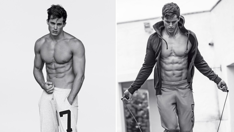 The World's Hottest Math Teacher Is Now an Armani Model | StyleCaster