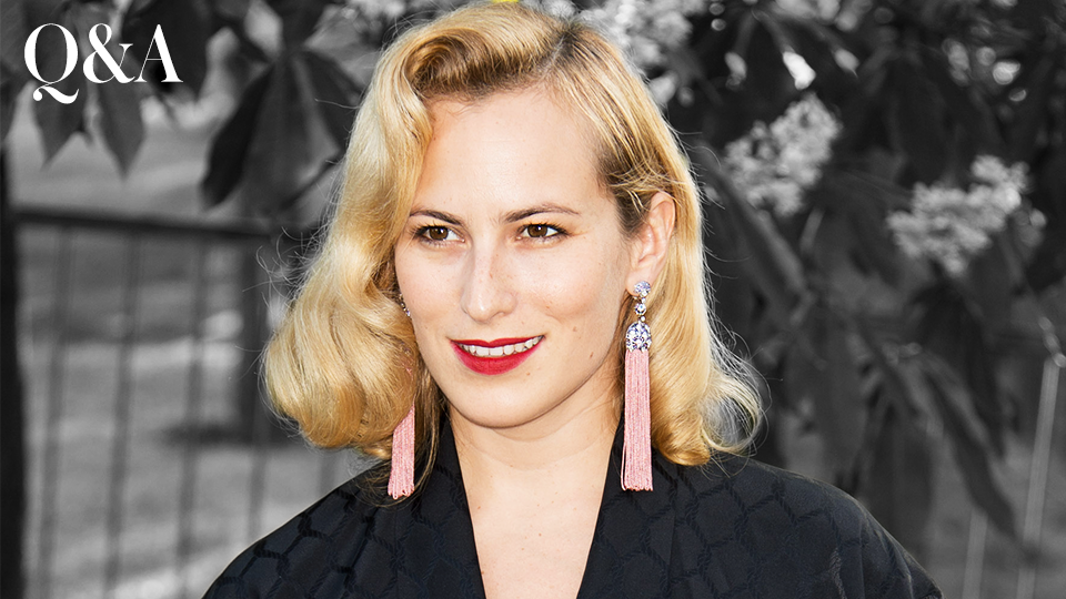 The Exact Products Designer Charlotte Dellal Uses to Create Her Retro Beauty Look | StyleCaster