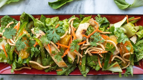 This Healthy Chinese Chicken Salad Recipe Beats the Hell Out of Any Mall Version   StyleCaster