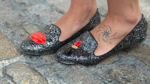 We'll Take a Hard Pass on This Questionable New Tattoo Trend | StyleCaster