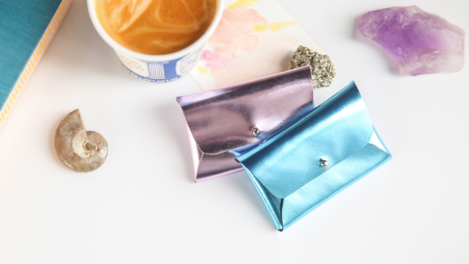 This DIY Mini Pouchette Is the Chicest Way to Store Your Business Cards | StyleCaster