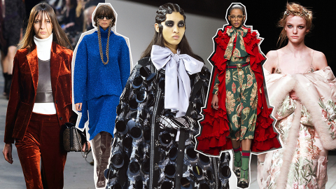 The 12 Biggest Trends from the Fall 2016 Runways | StyleCaster