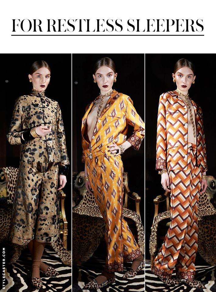 fashion designer for restless sleepers