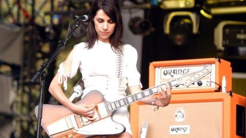 An Ode to PJ Harvey's Eclectic Personal Style  | StyleCaster