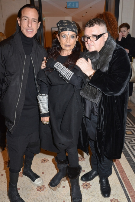 With Alber Elbaz / Getty Images