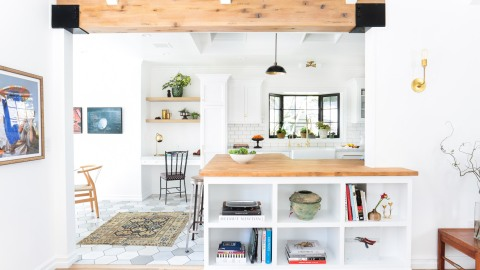 The Cool Trick to Making Any Room In Your Home Look Brighter  | StyleCaster