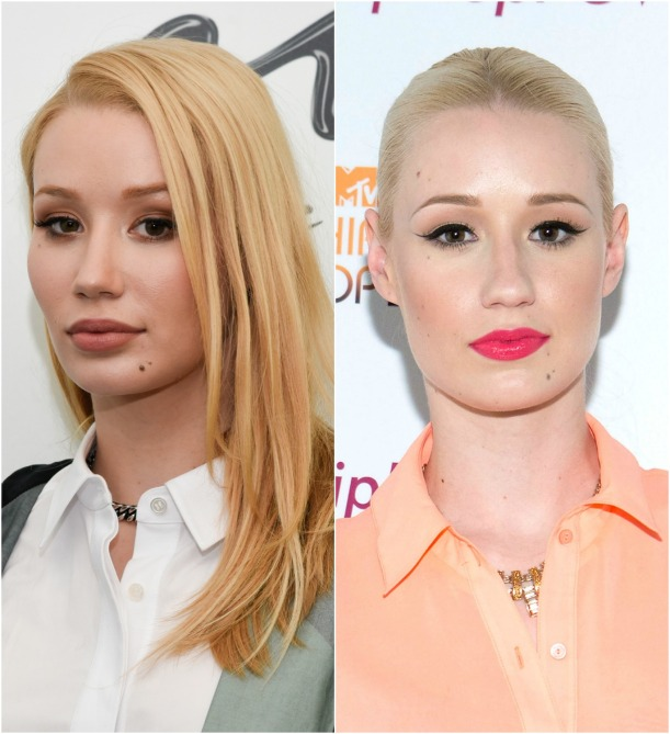 Iggy in 2016; and again in 2012. Getty Images