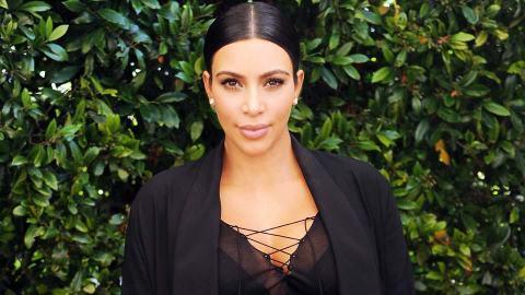 Happy Monday: Kim Kardashian Graces Instagram with a Totally Naked Selfie  | StyleCaster