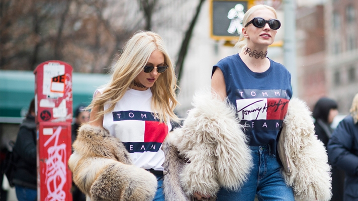 How to Pull Off the Logomania Trend Like a Street-Style Star