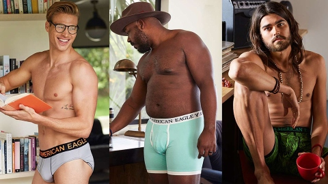 The Time Has Come: A Body-Positive Underwear Campaign For Men   StyleCaster