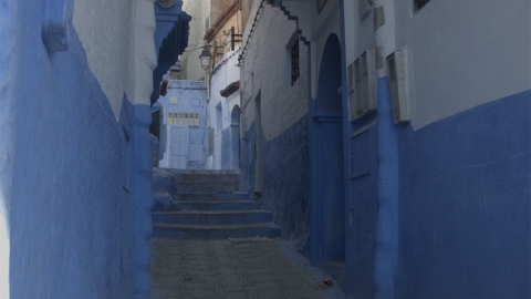"""Take a Video Tour of Morocco's Incredibly Photogenic """"Blue City""""   StyleCaster"""
