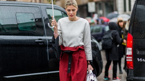 15 Ways to Pull Off Paper Bag Pants Like a Pro | StyleCaster