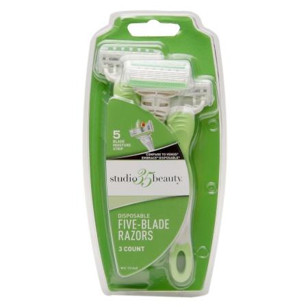 studio 35 beauty disposable razors Drugstore Smackdown: 5 Drugstore Razors, 1 Ultimate Winner