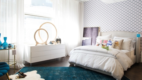 4 Cool Design Tricks That Make a Temporary Living Space Feel Like Home | StyleCaster
