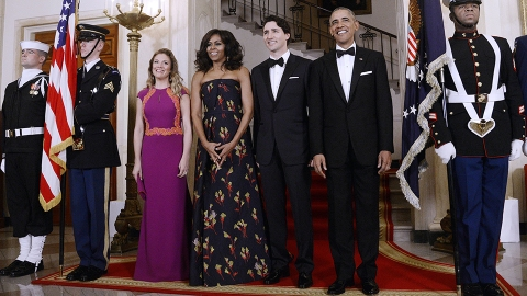 What Michelle Obama, Blake Lively, and More Wore to the U.S.-Canada State Dinner | StyleCaster