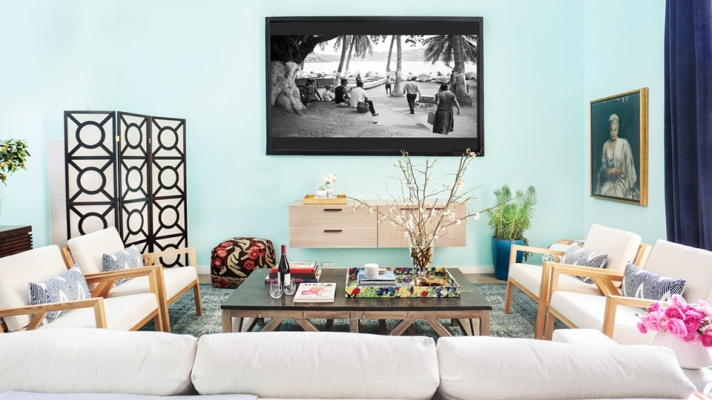 Check Out Whitney Port's Totally Enviable Screening Room