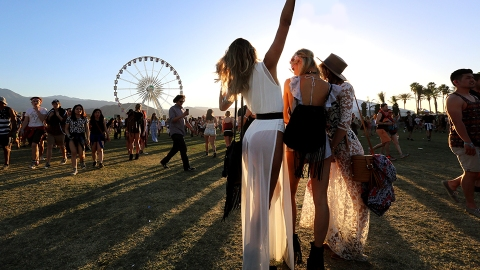 The Gilded Ferris Wheel Awards: Who Was the Most 'Coachella' at Coachella This Weekend?   StyleCaster