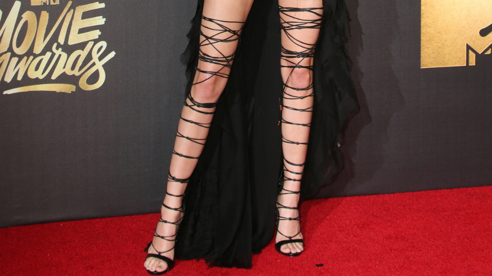 Kendall Jenner–Approved Lace-Up Heels