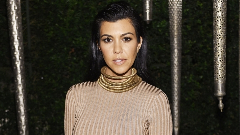 How to Celebrate Your 38th B-Day Like Kourtney: Get Naked | StyleCaster