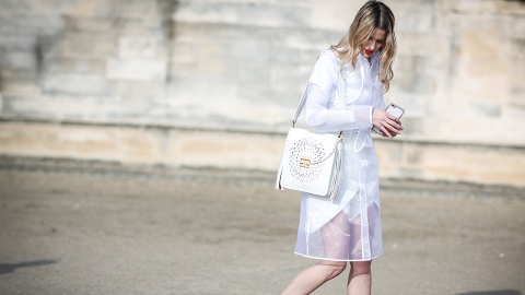 25 Street-Style Stars Making the Case for Monochromatic Fashion | StyleCaster