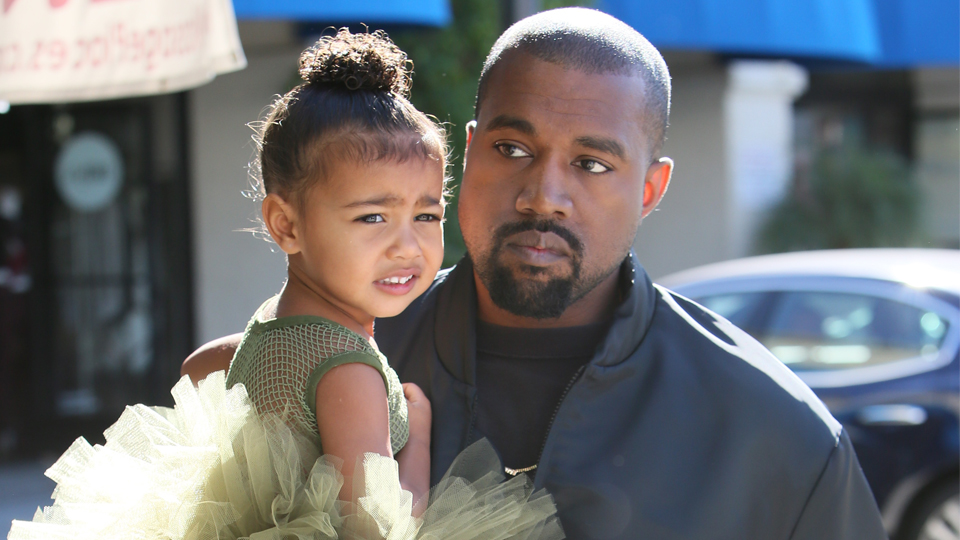north west kanye west North West Is Basically Kanyes Personal Trainer in Kims New Snapchat Video