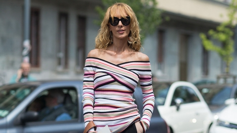 Off-The-Shoulder Sweaters: The Stylish Way to Show a Bit of Skin This Spring | StyleCaster