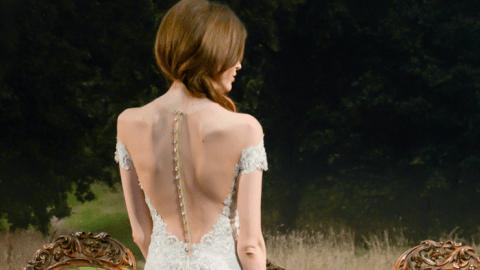 36 Stunning OTS Wedding Dresses From Bridal Fashion Week | StyleCaster