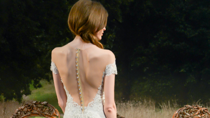 The Most Stunning Off-the-Shoulder Wedding Dresses From Bridal Fashion Week
