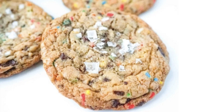 sea salt cookie